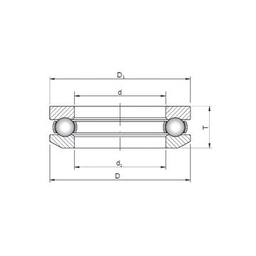 53309 ISO Thrust Ball Bearings