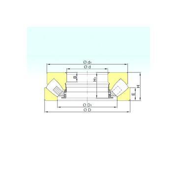 T1115 Timken Rodamientos de rodillos de empuje