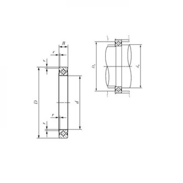 29317 M ISO Rodamientos de rodillos de empuje