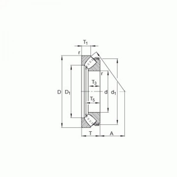 29320-E1 FAG Rodamientos de rodillos de empuje