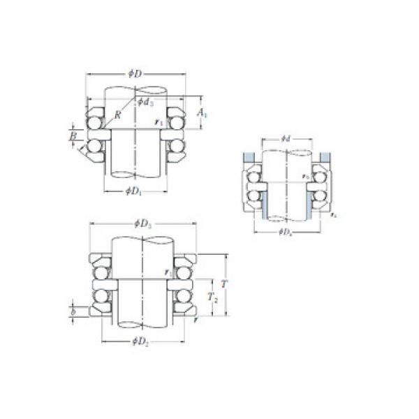 53309 ISO Rodamientos de bolas de empuje