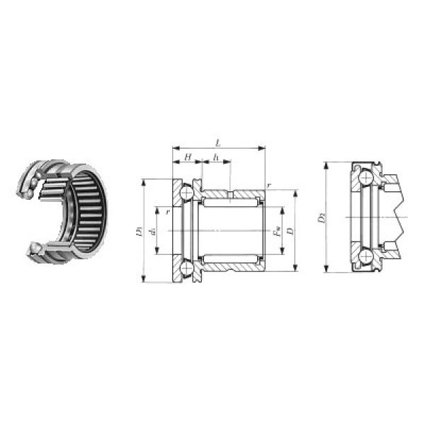 54224U+U224 CX Rodamientos de bolas de empuje